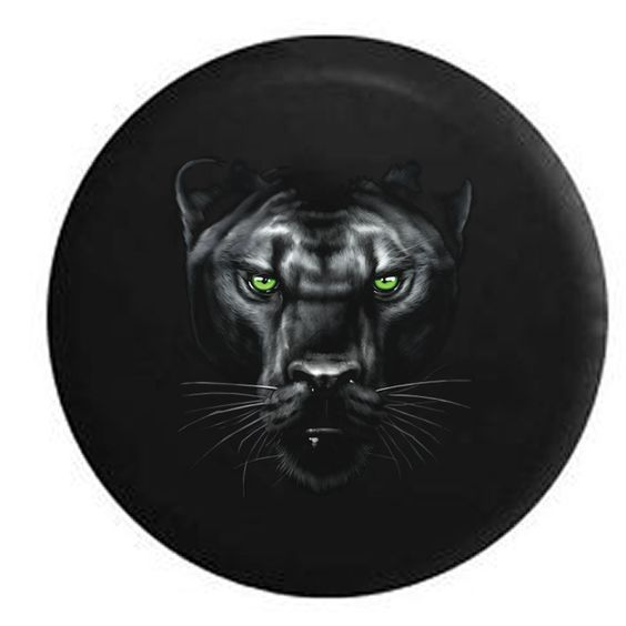 The menacing panther wheelcover